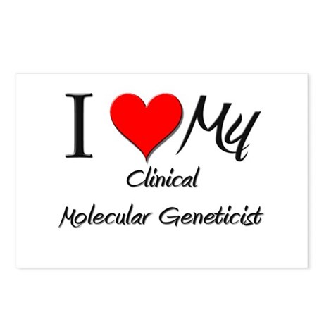 I Heart My Clinical Microbiologist Postcards (Pack
