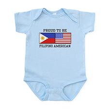 Proud Filipino American Infant Bodysuit