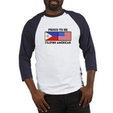 Proud Filipino American Baseball Jersey
