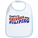 Proud to be Chinese and Filipino Bib
