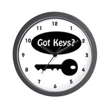Locksmith Wall Clock