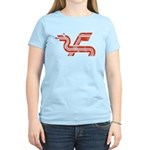Dragon logo Distressed Women's Light T-Shirt