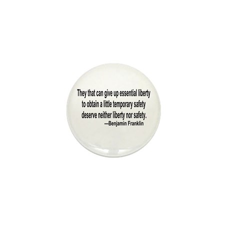 Essential Liberty Mini Button (100 pack)