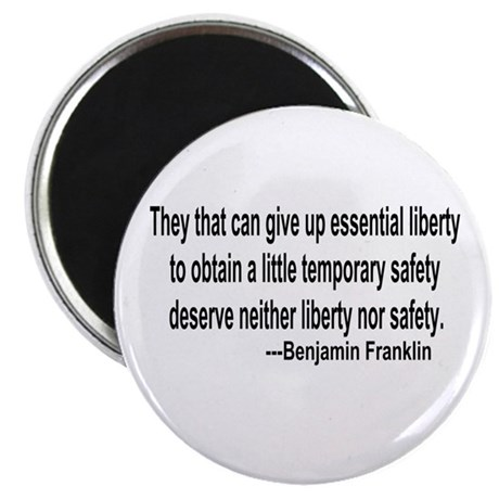 "Essential Liberty 2.25"" Magnet (100 pack)"