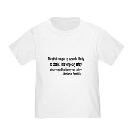 Essential Liberty Toddler T-Shirt