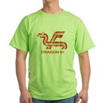 Dragon 64 Distressed Green T-Shirt