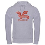 Dragon 64 Distressed Hooded Sweatshirt