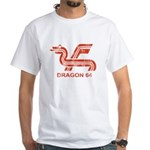Dragon 64 Distressed White T-Shirt