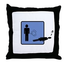 The Fart Of Death Throw Pillow