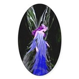 Ice Faerie (Original) Oval Decal