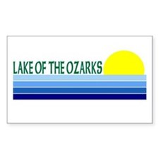 Lake of the Ozarks Rectangle Decal