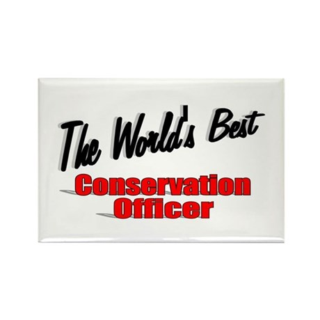 """The World's Best Conservation Officer"" Rectangle"