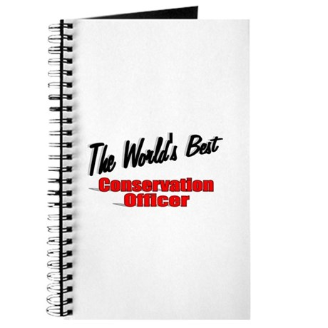 """The World's Best Conservation Officer"" Journal"