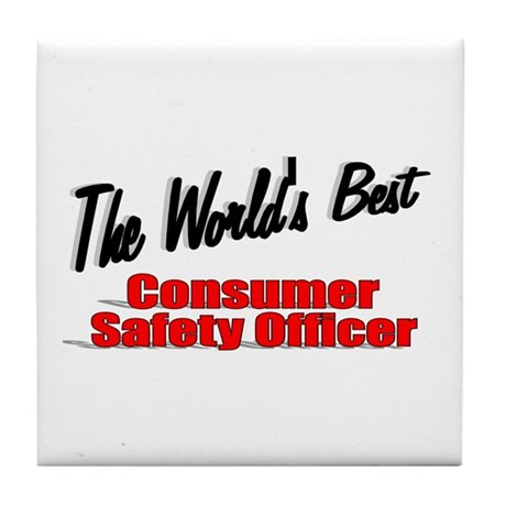 """The World's Best Consumer Safety Officer"" Tile Co"