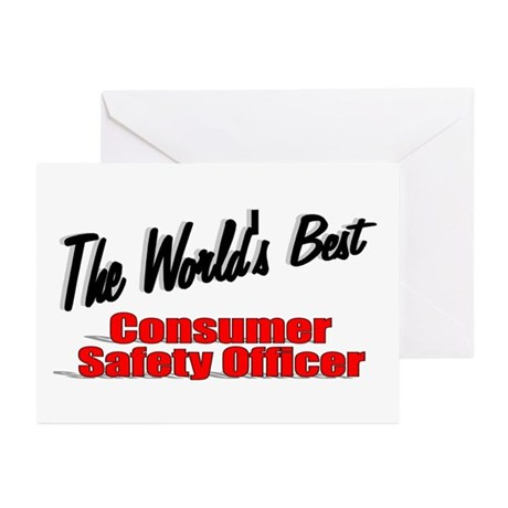 """The World's Best Consumer Safety Officer"" Greetin"