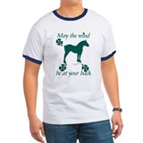 Draft Horse and Shamrocks T