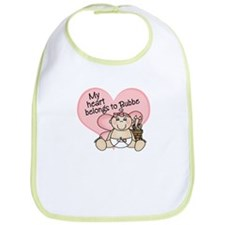My Heart Belongs to Bubbe GIR Bib