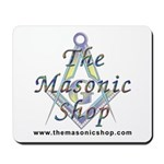 The Masonic Shop Logo Mousepad