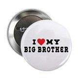 "I Love My Big Brother 2.25"" Button (10 pack)"