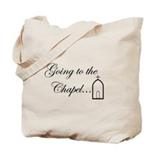 Going to the Chapel...In Black Tote Bag