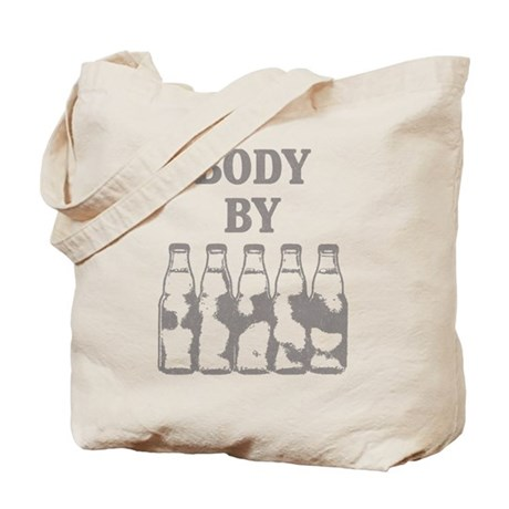 Body By Beer Tote Bag