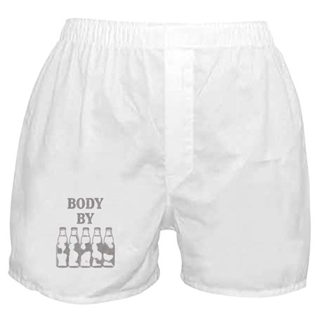 Body By Beer Boxer Shorts