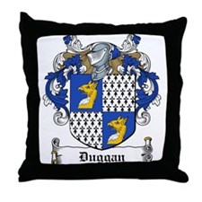 Duggan Family Crest Throw Pillow