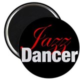 "Jazz Dancer 2.25"" Magnet (100 pack)"