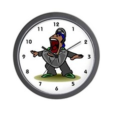 Umpire Wall Clock