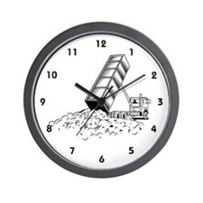 Sanitation Worker Wall Clock