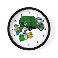 Sanitation Worker Wall Clock