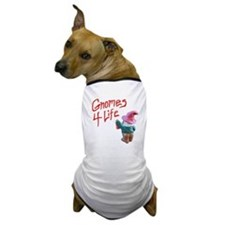 Gnome Graffiti Dog T-Shirt