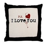 PS I Love You Throw Pillow