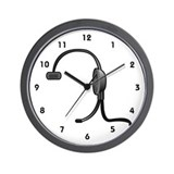 PBX or Telephone Operator Wall Clock
