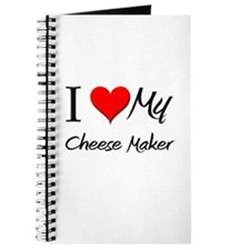 I Heart My Cheese Maker Journal