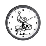 Cowboy Cowgirl Wall Clock