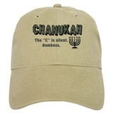 Chanukah The C Is Silent Baseball Cap