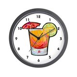 Bartender Barmaid Wall Clock