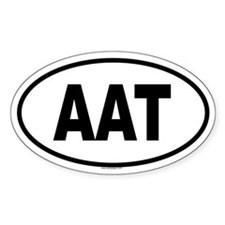AAT Oval Decal