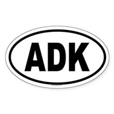 ADK Oval Decal