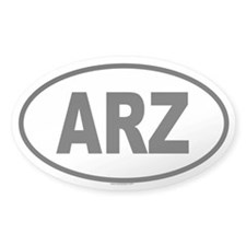 ARZ Oval Decal