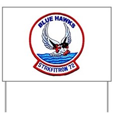 VFA 72 Blue Hawks Yard Sign