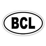 BCL Oval Decal