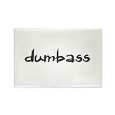 Dumbass Rectangle Magnet (100 pack)