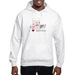 BINGO LOVE Hooded Sweatshirt