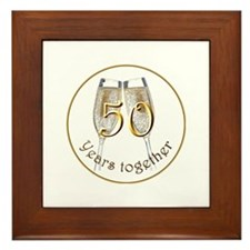 50th Anniversary Framed Tile