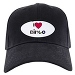 I LOVE BINGO Black Cap