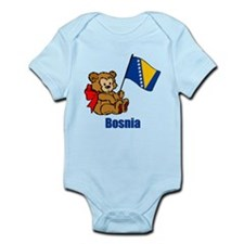 Bosnia Teddy Bear Infant Bodysuit