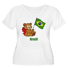 Brazil Teddy Bear T-Shirt
