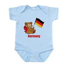 Germany Teddy Bear Infant Bodysuit